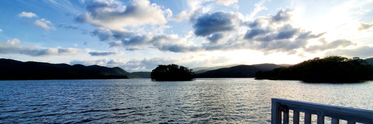 鶴賀リゾートエプイ 湖上テラス