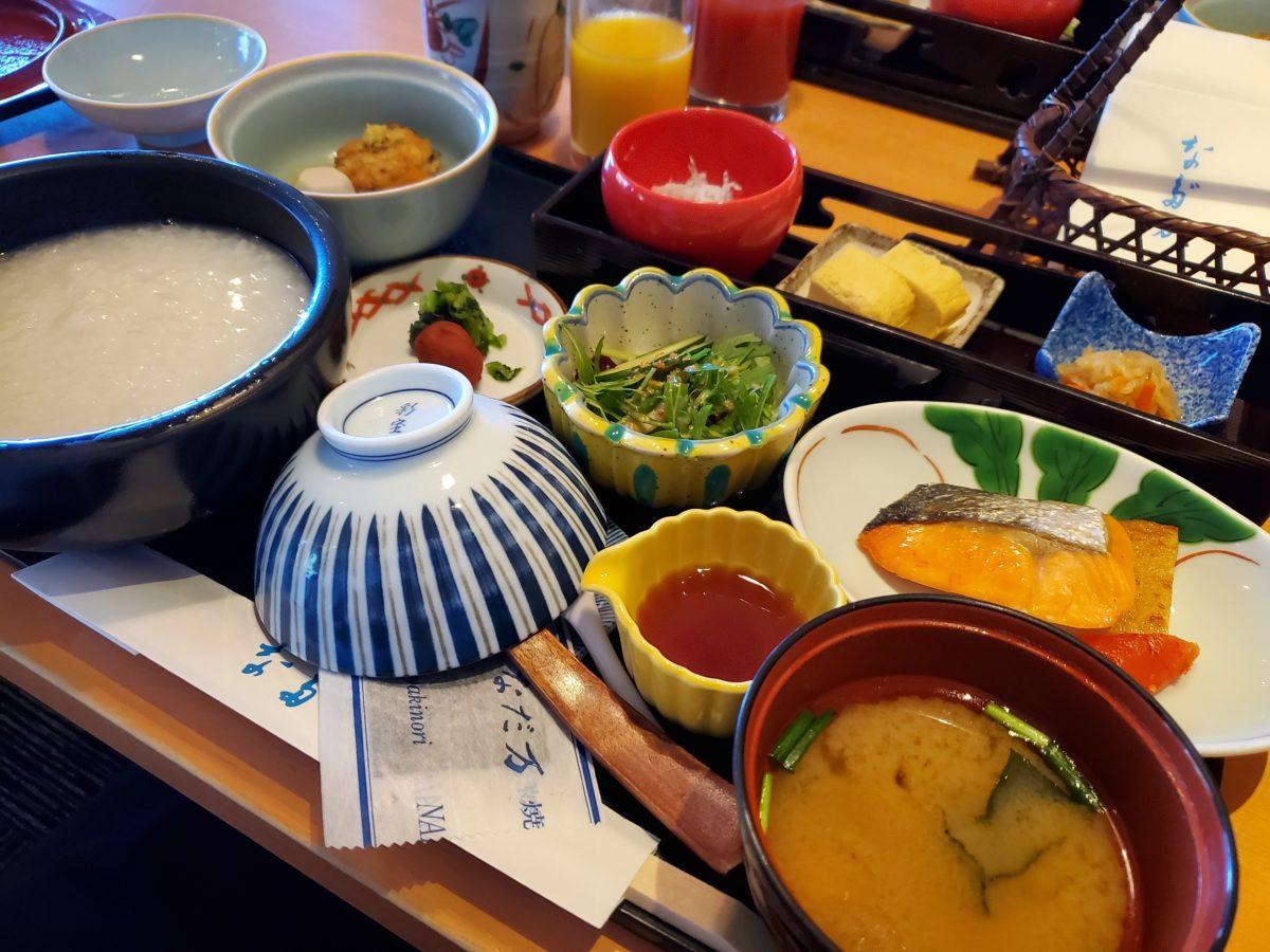 紀尾井 なだ万_和朝食