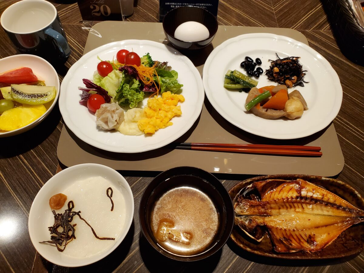 横浜ベイシェラトン_コンパス_朝食